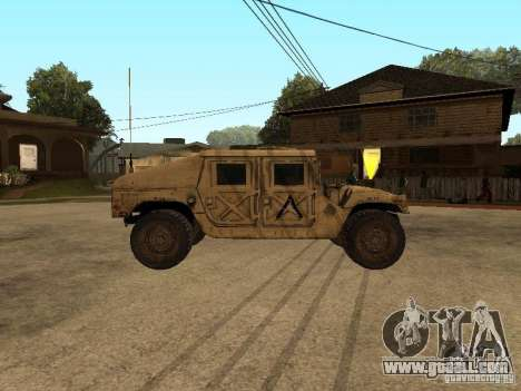 War Hummer H1 for GTA San Andreas left view