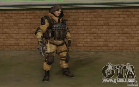 Sniper Warface for GTA San Andreas