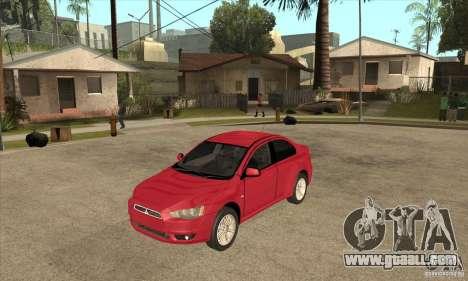 Mitsubishi Lancer for GTA San Andreas