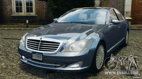 Mercedes-Benz W221 S500 2006 for GTA 4