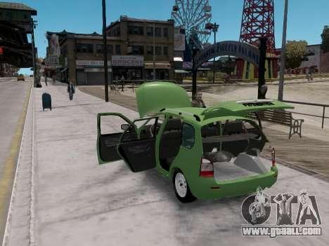 LADA 1117 station wagon Viburnum for GTA 4 right view