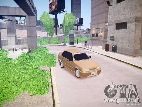 VAZ 2115 for GTA 4 left view