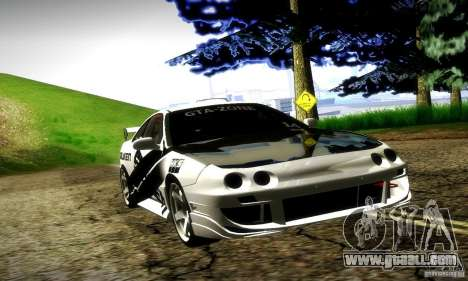 Acura Integra Type R for GTA San Andreas upper view
