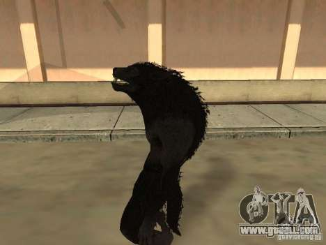 Werewolf from The Elder Scrolls 5 for GTA San Andreas