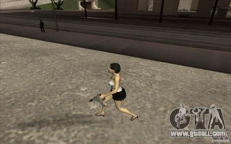 Kaileena big fan for GTA San Andreas forth screenshot