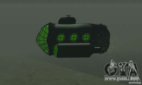 Submarine for GTA San Andreas right view