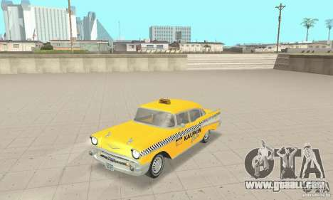 Chevrolet Bel Air 4-door Sedan Taxi 1957 for GTA San Andreas