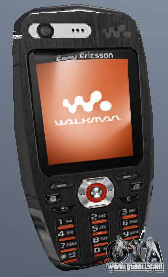 Sony Ericsson W880i for GTA San Andreas