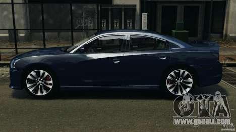 Dodge Charger SRT8 2012 v2.0 for GTA 4 left view