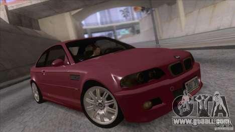 BMW M3 E48 for GTA San Andreas