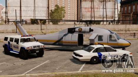 United States Department of Homeland Security for GTA 4