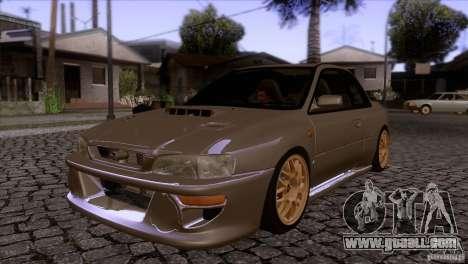 Subaru Impreza 22 for GTA San Andreas