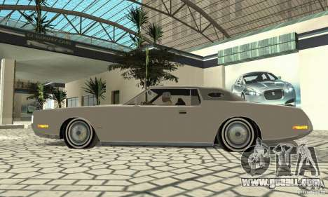 Lincoln Continental Mark IV 1972 for GTA San Andreas back view