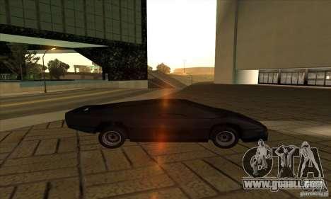 Dodge M4S Turbo Interceptor Wraith 1984 for GTA San Andreas left view