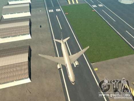 Boeing 777-200 Air France for GTA San Andreas inner view
