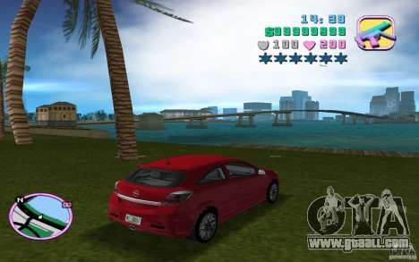Opel Astra OPC 2006 for GTA Vice City left view