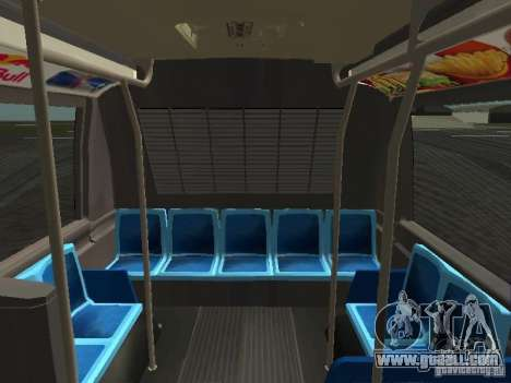 GMC RTS MTA New York City Bus for GTA San Andreas upper view