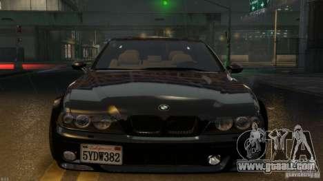 BMW M5 E39 BBC v1.0 for GTA 4 back left view