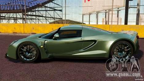 Hennessey Venom GT 2010 [EPM] for GTA 4 left view