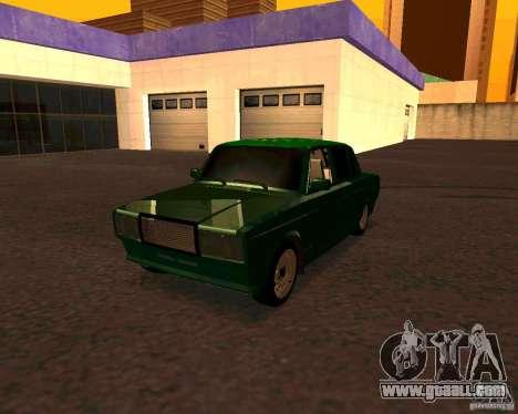 VAZ 2107 Hobo v. 1 for GTA San Andreas