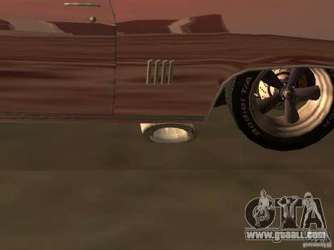 Ford Torino Cobra 1970 Tunable for GTA San Andreas engine