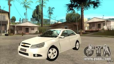 Chevrolet Epica 2008 for GTA San Andreas
