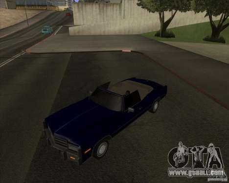 HD Esperanto for GTA San Andreas back left view