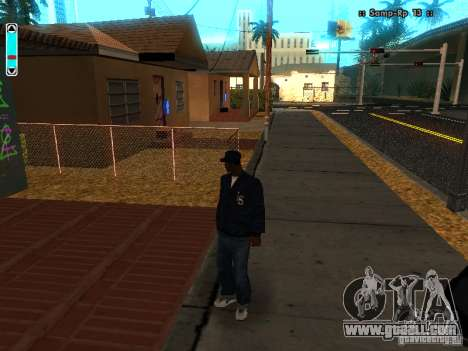 A new interface for SAMP for GTA San Andreas second screenshot