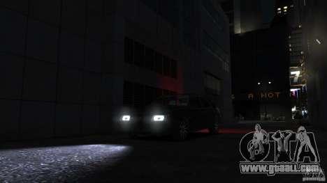 VAZ 2109 light tuning for GTA 4 side view