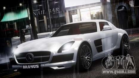 Mercedes-Benz SLS 2011 Brabus AMG Widestar v1.1 for GTA 4