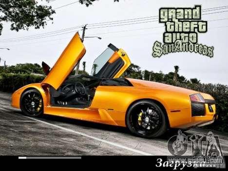 New loading screens 2011 for GTA San Andreas forth screenshot