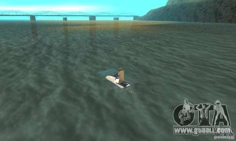 VCS Jetski for GTA San Andreas left view