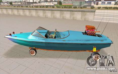 Hot-Boat-Rot for GTA San Andreas left view