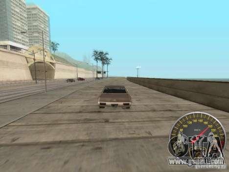Lamborghini Speedometer for GTA San Andreas forth screenshot
