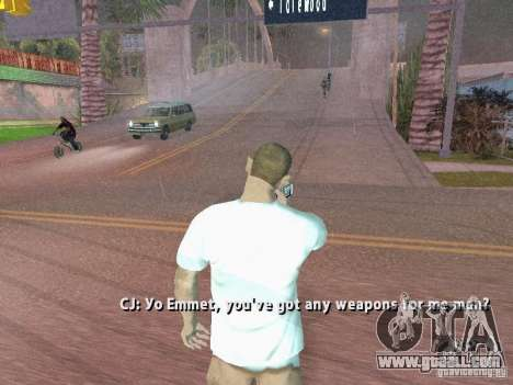 Nokia N8 for GTA San Andreas third screenshot