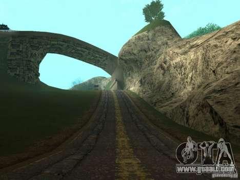 New roads in Vajnvude for GTA San Andreas