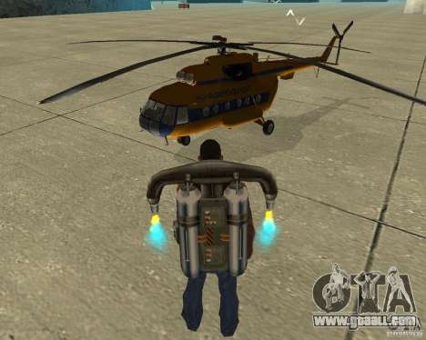 MI-8 for GTA San Andreas