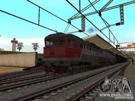 RAILWAY mod IV final for GTA San Andreas forth screenshot