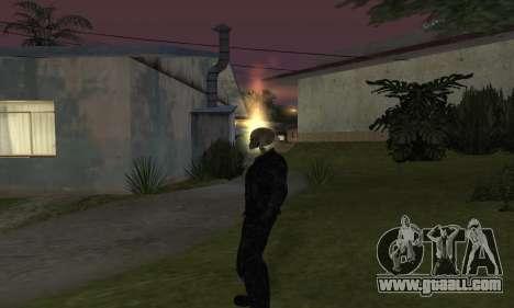 Ghost Rider for GTA San Andreas second screenshot