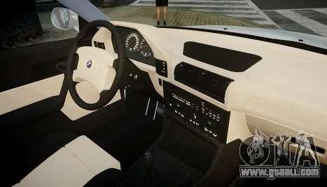 BMW M5 (E34) 1995 v1.0 for GTA 4 upper view
