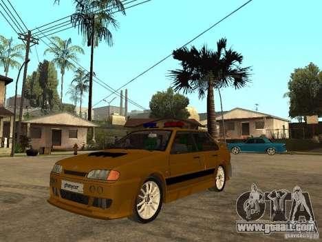 VAZ 2115 Police Car Tuning for GTA San Andreas