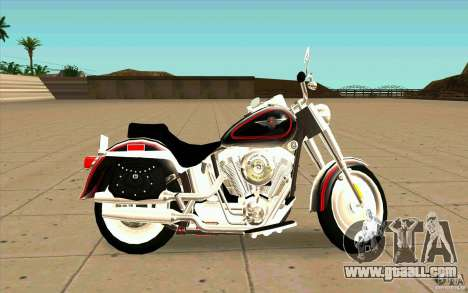 Harley Davidson FatBoy (Terminator 2) for GTA San Andreas left view