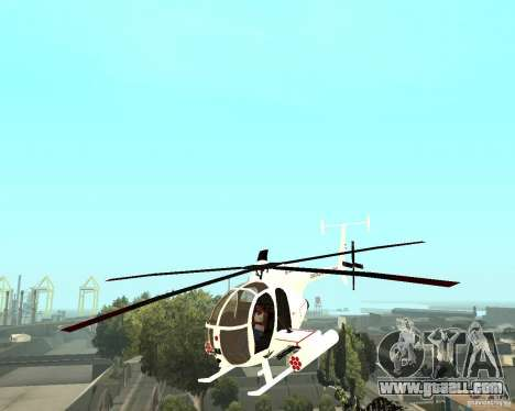 AH-6C Little Bird for GTA San Andreas