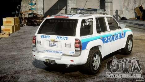 Chevrolet Trailblazer Police V1.5PD [ELS] for GTA 4 side view