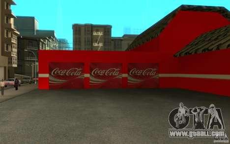 Coca Cola Market for GTA San Andreas third screenshot