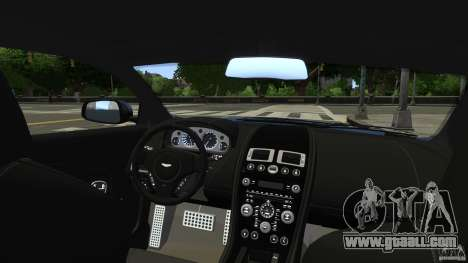 Aston Martin DBS v1.0 for GTA 4 side view