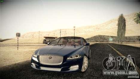 Jaguar XJ 2010 V1.0 for GTA San Andreas wheels