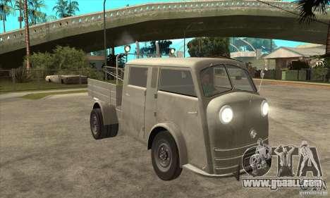 Tempo Matador 1952 Towtruck version 1.0 for GTA San Andreas back view