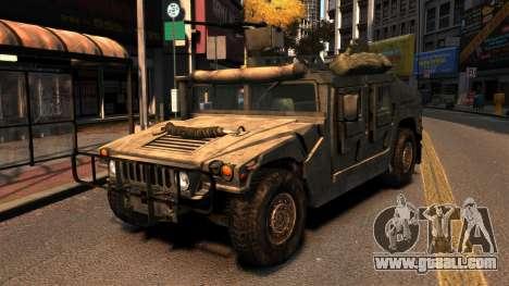HMMWV M1114 for GTA 4