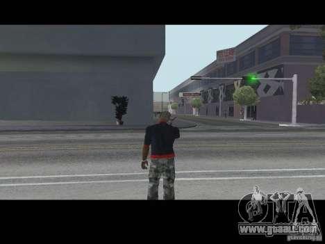 Call seller Weapons v1.1 for GTA San Andreas second screenshot